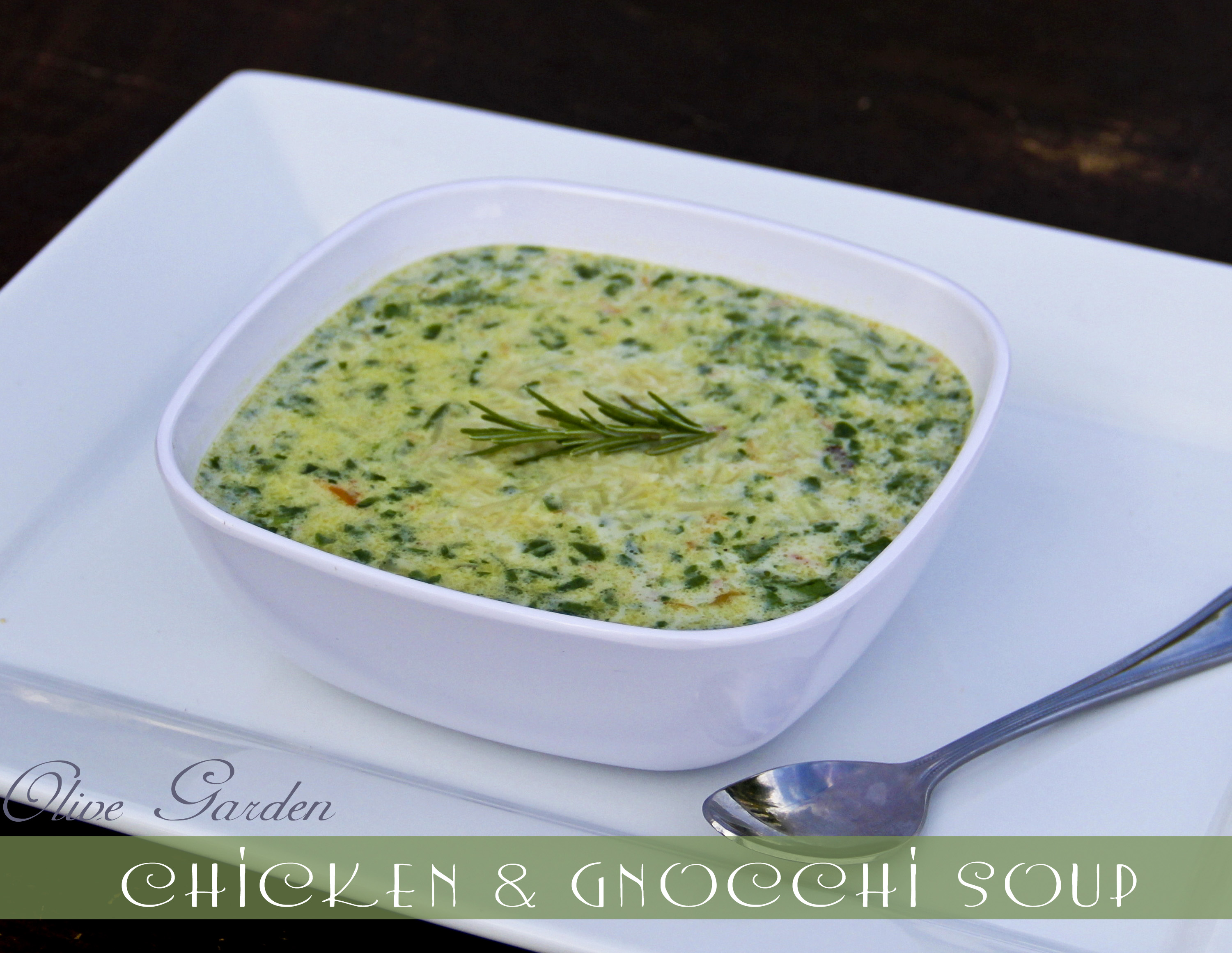 Olive Garden Inspired Chicken And Gnocchi Soup Sweet Southern Blue