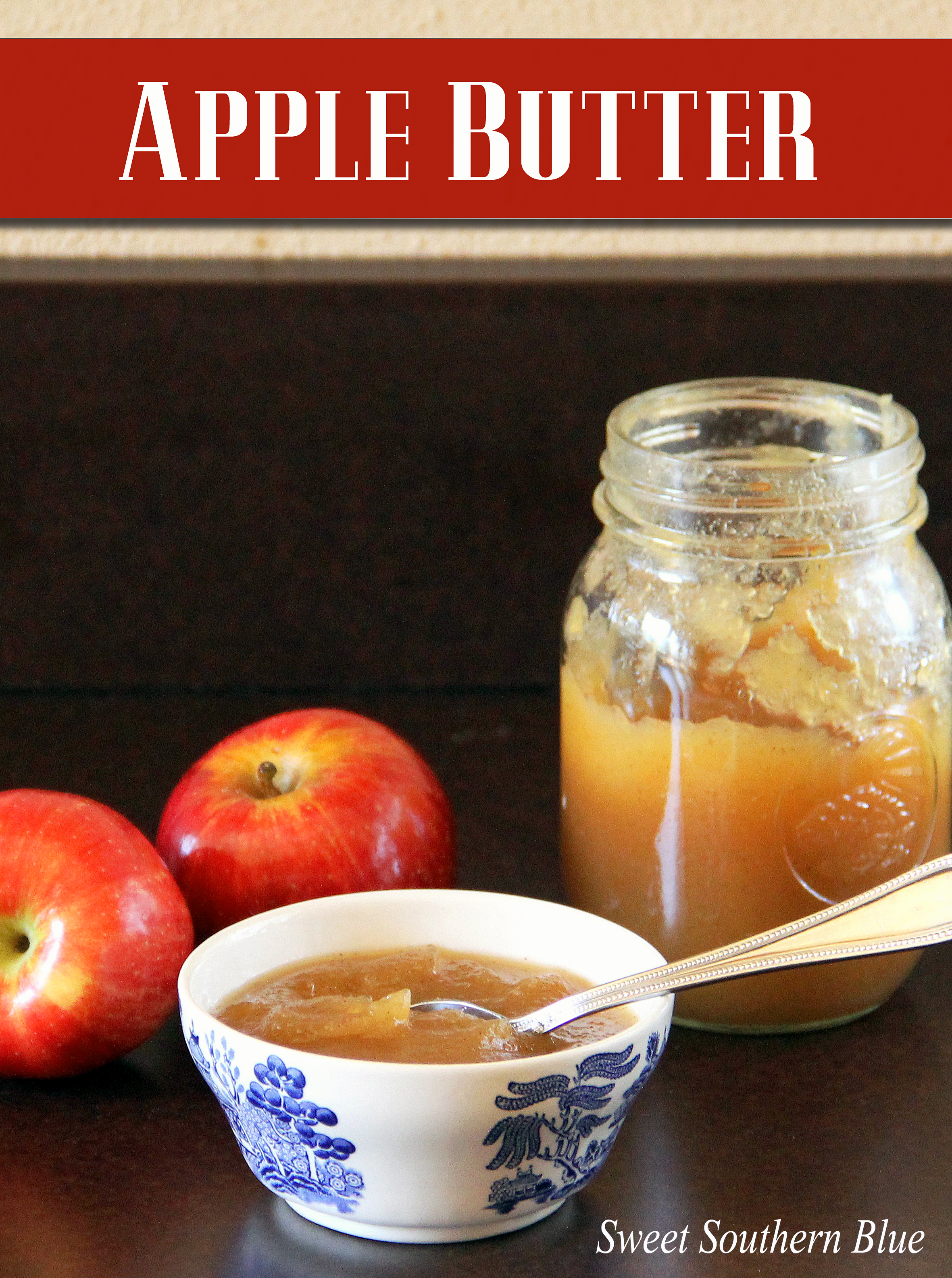 Fresh Homemade Apple Butter | Sweet Southern Blue