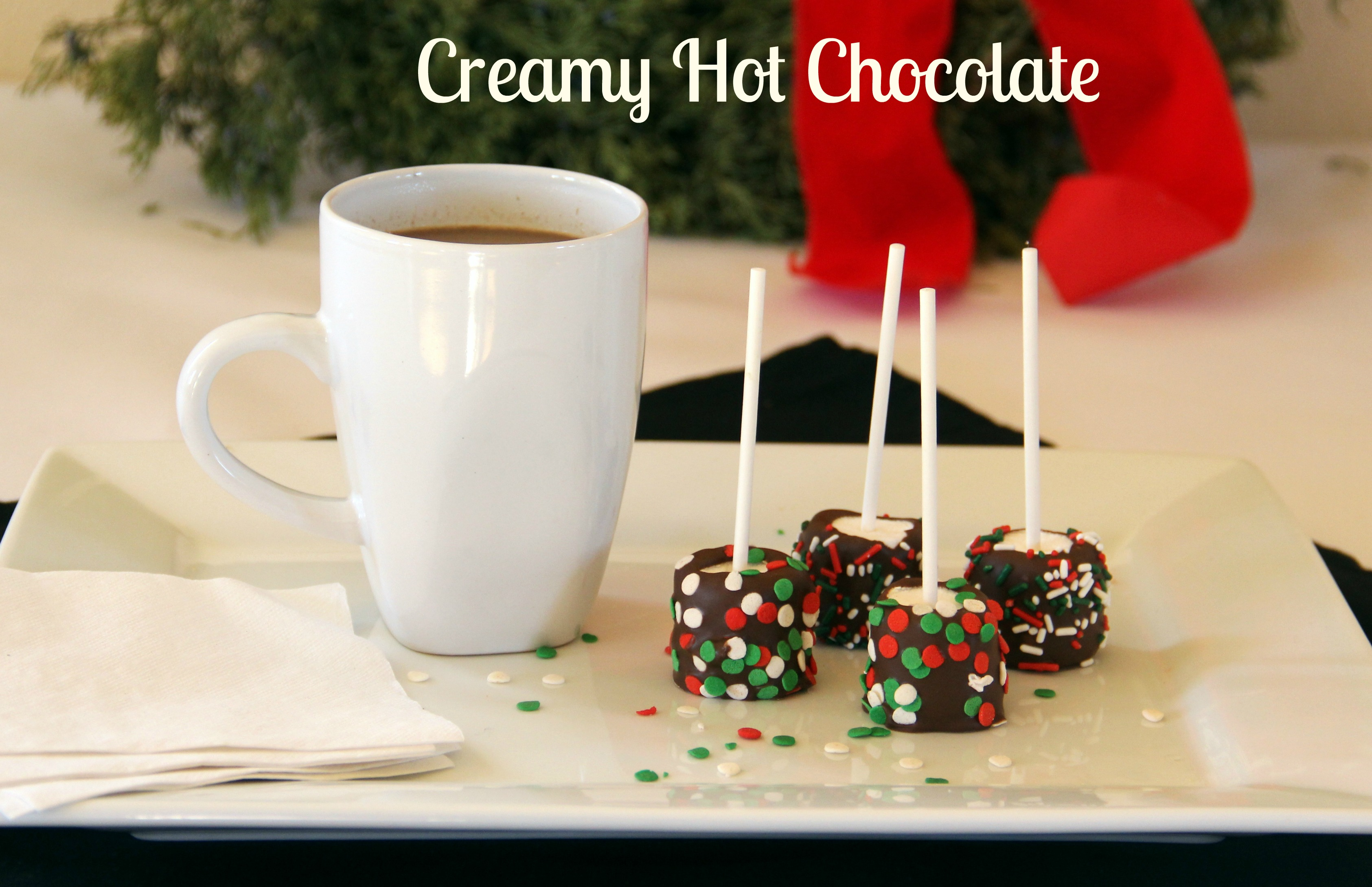 CREAMY HOT CHOCOLATE; Freeze and heat later for a quick treat! | Sweet ...