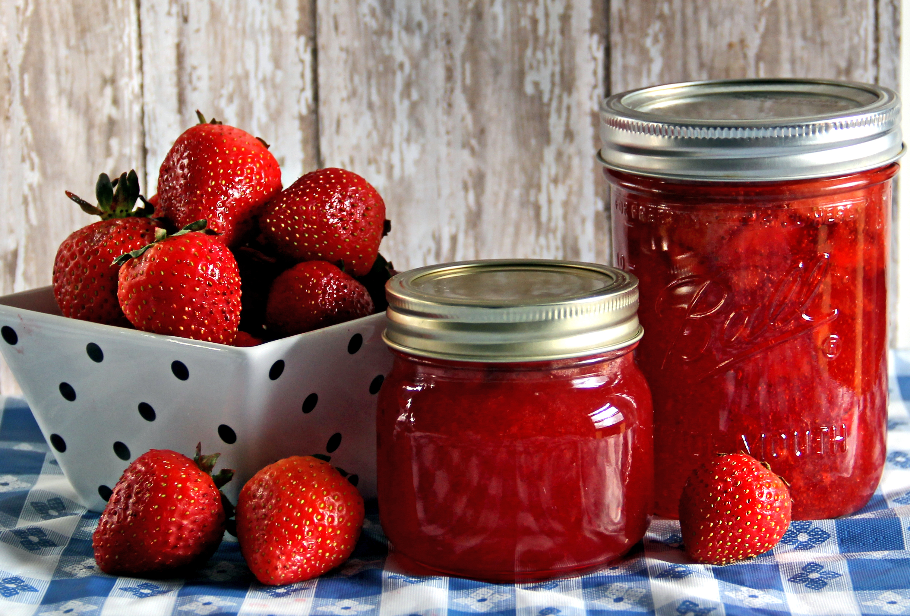 Strawberry Jam | Sweet Southern Blue